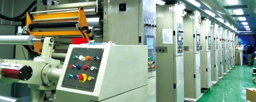 High-speed Gravure Printing Line